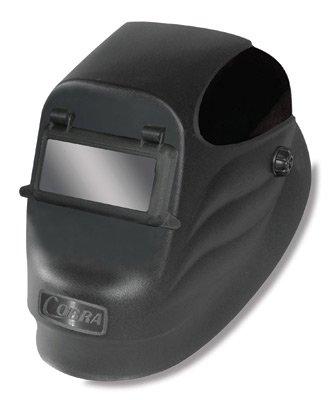 Radnor 64005109 Lift Front Welding Helmet with 2 x 4 14 Shade 10 Passive Lens Black