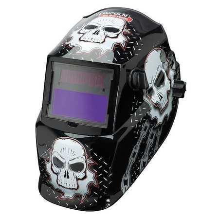 Welding Helmet Shade 9 to 13 BlackWhite