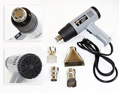1500 Watt Dual Temperature Heat Gun W Accessories Shrink Wrapping 572f- 920f