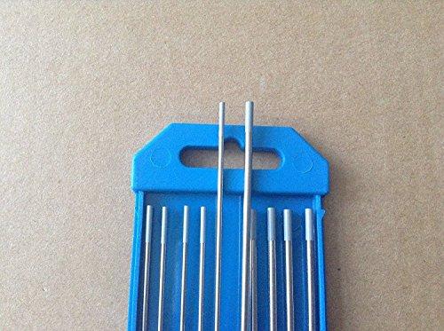 10 PCS of 332116 7Grey WC202 Ceriated Tungsten TIG Electrodes ETA7-12 WORK DAYS