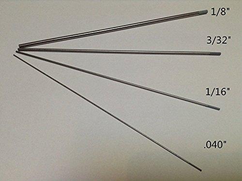 12 PCS 18332116040 7Gray WC202 Ceriated Tungsten Electrodes ETA7-12 WORK DAYS