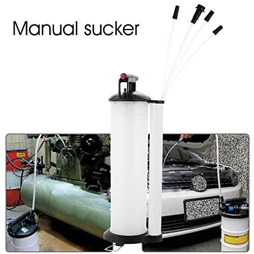 7 Liter Fluid Evacuator Coocheer Manual Oil Changer Vacuum for Automotive