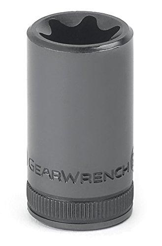 GearWrench 80460 38 Drive External Torx Socket E10 Black