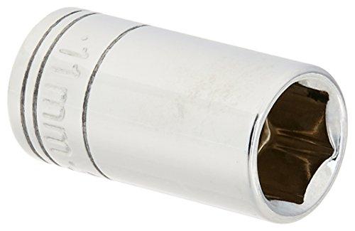 SK Hand Tool 41681 14-Inch Drive Semi-Deep Socket 11mm Chrome