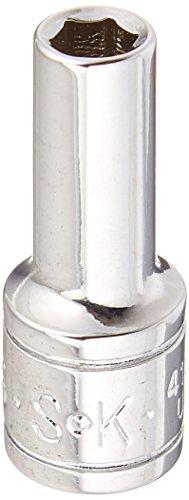 SK Hand Tool 41866 14-Inch Drive Semi-Deep Socket 316 Chrome