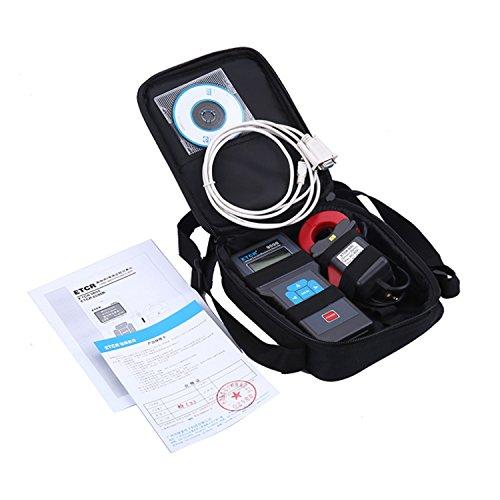 Shengjuanfeng Digital Ammeter with AC Leakage Current Clamp Meter Online measuremen Monitor ETCR8000