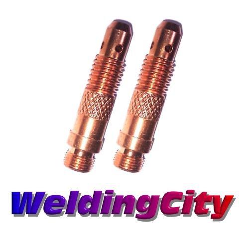WeldingCity 2-pk Collet Body 10N32 332 for TIG Welding Torch 17 18 and 26 Series in Lincoln Miller ESAB Weldcraft CK Everlast