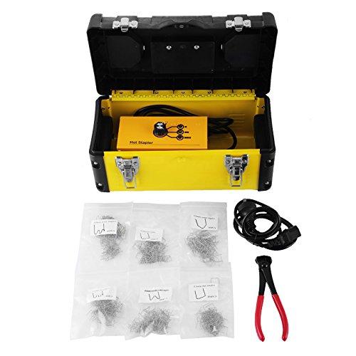 Mophorn 600 Staples Hot Stapler Tool Box 20W Welder Kit for Plastic Thermo Repair