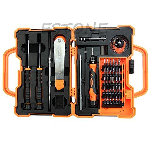 Armyshop Jakemy 45 In 1 Screwdriver Repair Opening Tools Box Set Kit For Mobile Phone Pad