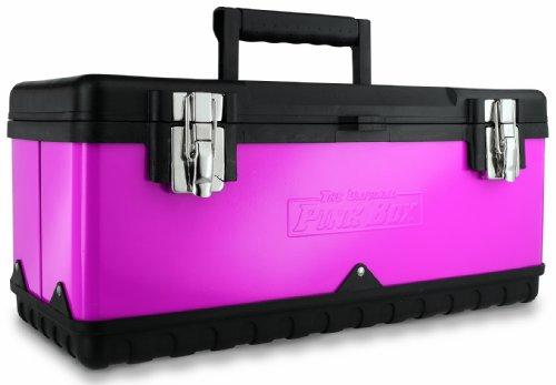 The Original Pink Box PB20MTB 20-Inch Steel Tool Box Pink