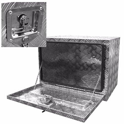 Generic inum Truck Pi Aluminum Truck Aluminum Pickup Underbody Underbody Und Trailer Storage Tool der bed Too NEW 24 railer Under bed Tool Box