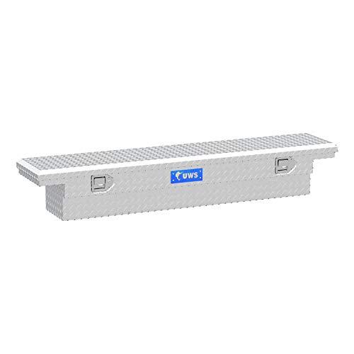 UWS EC10311 63-Inch Heavy-Wall Aluminum Slim Truck Tool Box with Low Profile RigidCore Lid