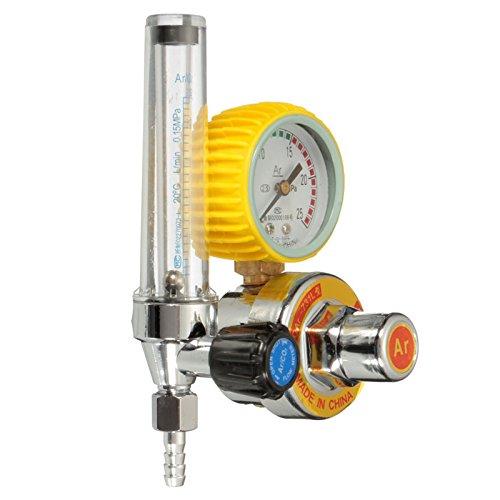 Co2 Gas Mig Tig Flow Meter Welding Weld Regulator Gauge For Welder Cga320 Fits
