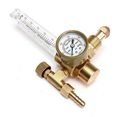 Pressure Reducer Mig Tig Flow Meter Control Valve Regulator for Gauge Welding Gas CO2 Argon