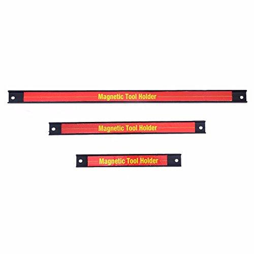 3 PCS 8 12 18 Magnetic Tool Holder Bar Organizer Storage Rack Knife Wrench