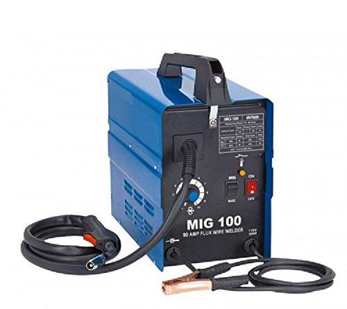 55-90 AMP Flux Mig Welder Welding