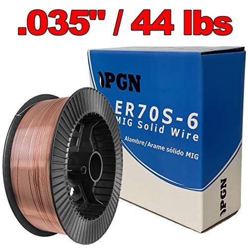 PGN - ER70S-6 035 09 mm Mild Steel MIG Welding Wire - 44 Lbs Spool