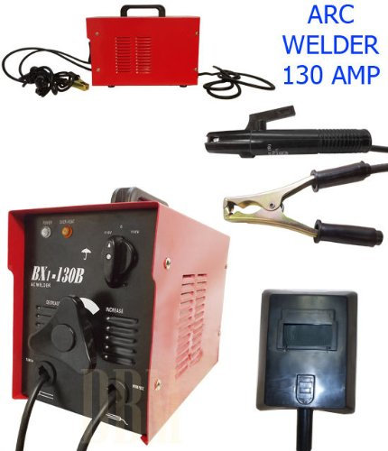 ARC Welder Machine 130 AMP 110 Volt Soldering Welding Rod by Generic