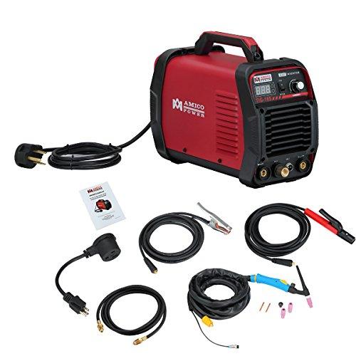 Amico TIG-165  160 Amp HF TIG TorchStickArc Welder 115 230V Dual Voltage Welding Machine