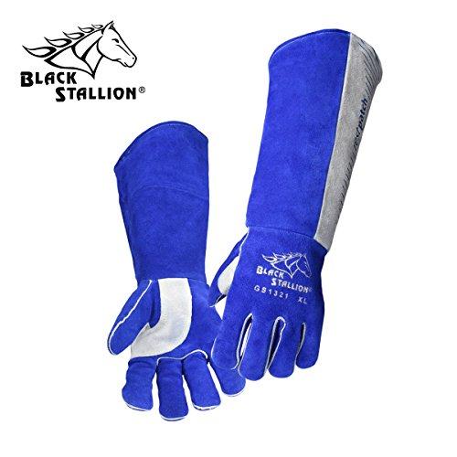 Black Stallion GS1321-BG-XL X-Large Stick Welding Gloves 21 W Restpa