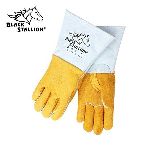 Revco Black Stallion 850-2XLarge Flame Resistant Nomex Lined Elkskin Stick Welding Gloves Size 2XLarge