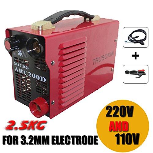 Mini 220V110V Dual voltage power Micro 25KG IGBT Inverter DC welding machineequipmentwelderswelding device for family use