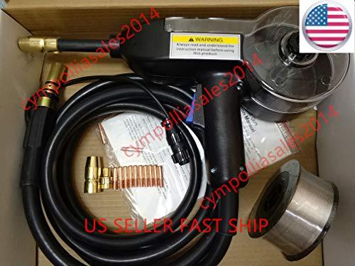 US SELLER 10 MIG Spool gun fit Millermatic 141190211 Multimatic 200215 Renegade 180 Syncrowave 210 TIG Aluminum welding ETA 2-8 work days