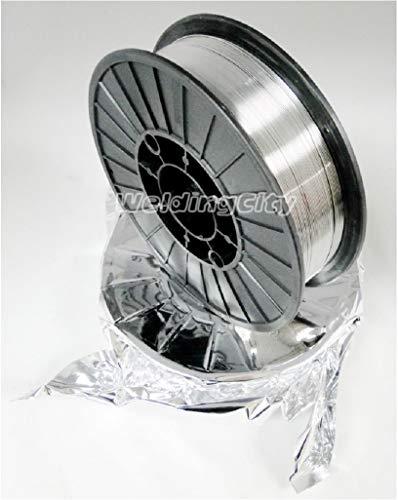 WeldingCity E71T-11 Flux Core Gasless Mild Steel MIG Welding Wire 0035 09mm 10-lb Spool