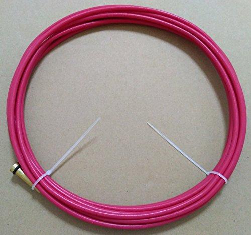Teflon Wire Conduit Liner 42T-3035-15 030-035 15ft Aluminum Welding for Tweco 12 Magnum 100L 175L ETA7-12 WORK DAYS