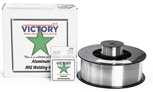 Victory 5356 035 Aluminum Welding Wire 1 lb Spool