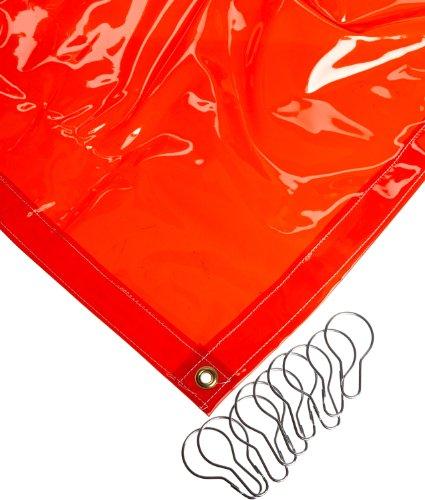 Sellstrom 97311-1 Supervisor Series Welding Curtains 8 Width x 6 Height Orange