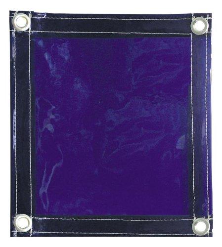 Tillman 604R64 6x4 ft Blue Vinyl Welding Curtain with Grommets all Aro