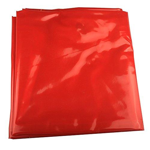 Weldflame 6x8 Orange Vinyl Welding Curtain wGrommets 12 appart