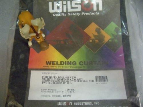 Wilson 4520-60 Welding Curtain Green 4 X 6