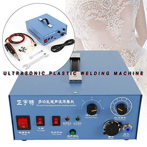 Welding Machine TBVECHI Ultrasonic Plastic Welding Machine Portable Ultrasonic Spot Welder 150W 110V 28KHz New
