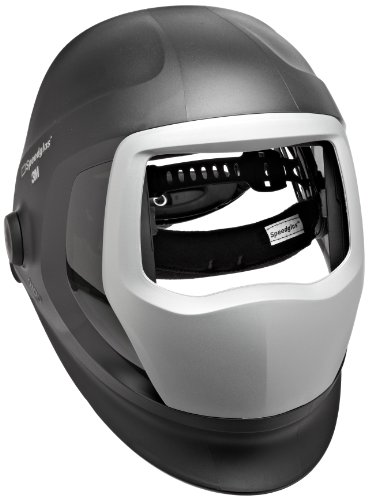 3M Speedglas Helmet 9100 Welding Safety 06-0300-51SW Replacement Kit with SideWindows Headband and Silver Front Panel