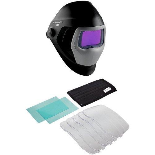 3M Speedglas Welding Helmet 9100 06-0100-30iSW with Auto-Darkening Filter 9100XXi 3M Speedglas Starter Kit 9100XX Welding Safety 06-0201-30