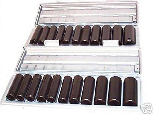 Socket Sets 24 PC 12 SAE 12 MM 12 DR DEEP IMPACT SOCKETS SET TOOLS 12 DRIVE AIR IMPACT