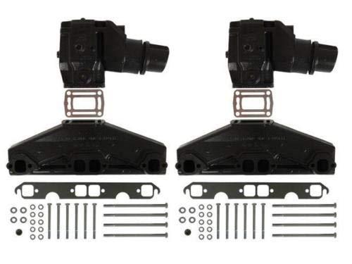50L57L Volvo PentaOMC Exhaust Manifold ElbowRiser Kit 3847501 3862664