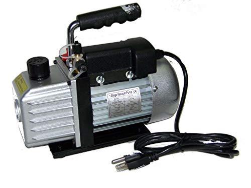 Best tools 3CFM Rotary Vane Deep Vacuum Pump 14HP AC R410a R134A-R12R22 Refrigerant HVAC