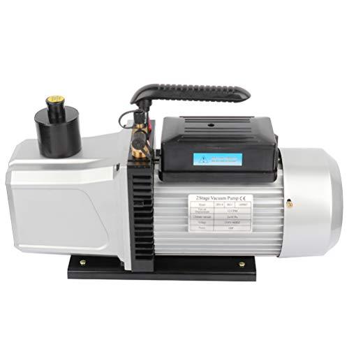 SCITOO 12CFM 1HP Dual Stage Rotary Vane Economy Vacuum Pump Deep Air Refrigerant Conditioning