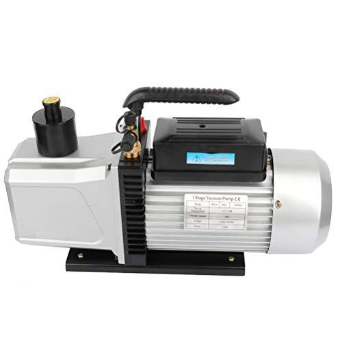 SCITOO 12CFM 1HP ONE Stage Rotary Vane Economy Vacuum Pump Deep Air Refrigerant Conditioning