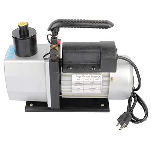 SCITOO 7CFM 12HP Single Stage Rotary Vane Economy Vacuum Pump Deep Air Refrigerant Conditioning