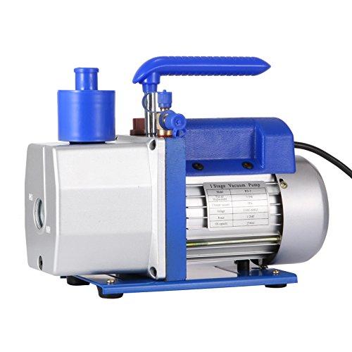 Mophorn Vacuum Pump HVAC 7 CFM 05HP Single Stage Vacuum Pump Refrigeration AC Air Conditioning Refrigerant Vacuum Evacuation Pump