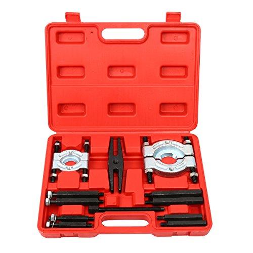 8milelake 12pcs bearing Splitter Gear Puller Fly Wheel Separator Set Tool Kit 5 Ton Capacity