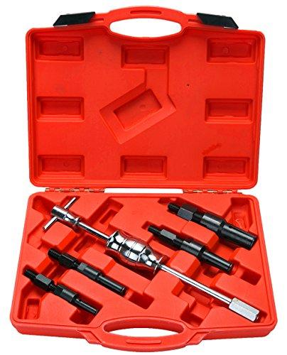 8milelake 5pc Blind Hole Pilot Bearing Gear Puller Slide Hammer Removal Repair Kit