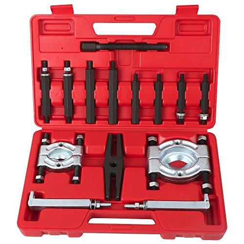 Yaheetech 14PCS Bearing Separator Puller Set 2 and 3 Splitters Remove Bearings Kit