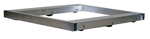 Vestil DOL-3636-8T Pallet Dolly Tilting Aluminum 6000 lb Capacity 4-18 x 36 x 36