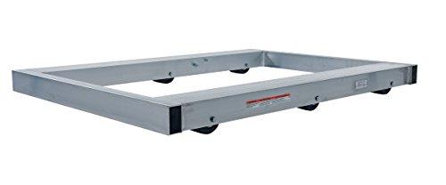 Vestil DOL-4848-6NT Pallet Dolly Aluminum 4000 lb Capacity 3-34 x 48 x 48