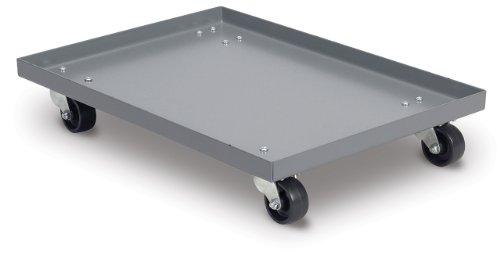 Akro-Mils RU843TP1821 Powder Coated Steel Panel Dolly for 30289 Super Size AkroBin Grey